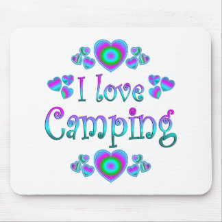I Liebe-Camping Mousepads