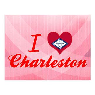 I Liebe Charleston, Arkansas Postkarte