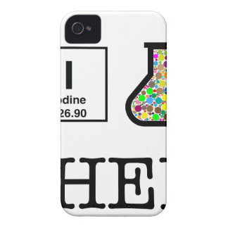 I Liebe-Chemie Case-Mate iPhone 4 Hülle