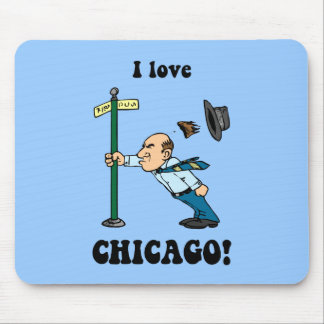 I Liebe Chicago Mousepad