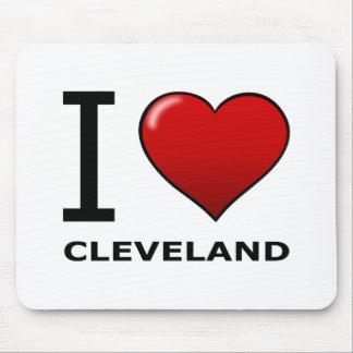 I LIEBE CLEVELAND, OH- - OHIO MOUSEPADS