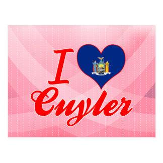 I Liebe Cuyler, New York Postkarte