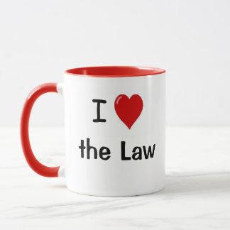 I Liebe das Herz des Gesetzi das Tasse
