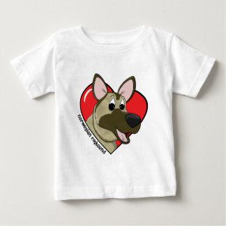 I Liebe das T-Shirt meines norwegischen Elkhound