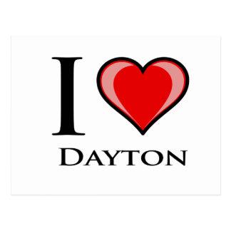 I Liebe Dayton Postkarte