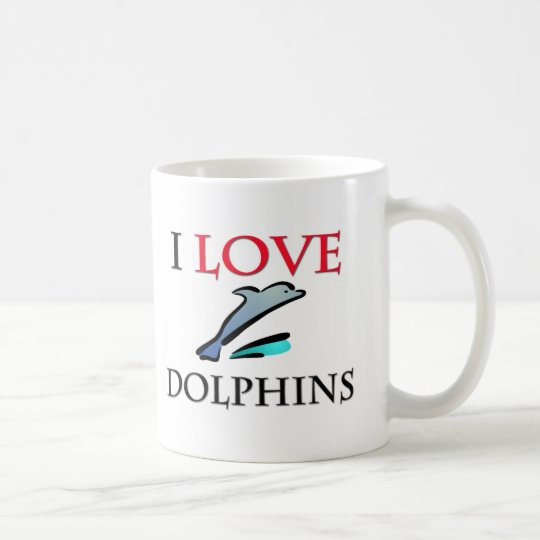 I Liebe-Delphine Tasse