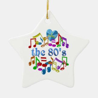 I Liebe der 80er Keramik Ornament