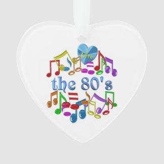 I Liebe der 80er Ornament
