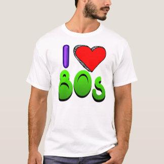 I Liebe der 80er T-Shirt