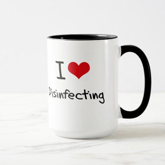 I Liebe-Desinfizierung Tasse