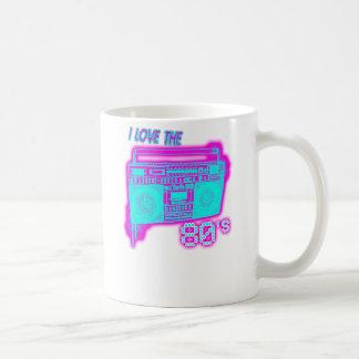 I LIEBE die Achtzigerjahre Kaffeetasse