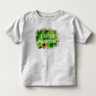 I Liebe, die niedlichen die grafische Kunst-T - Kleinkind T-shirt