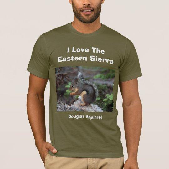 I Liebe die Ostsierra Eichhörnchen-T - Shirt