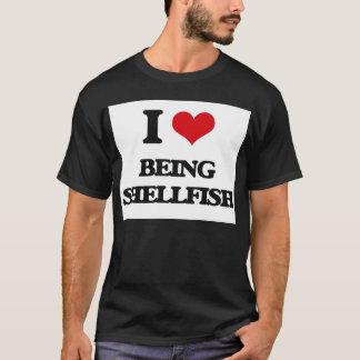 I Liebe, die Schalentier ist T-Shirt