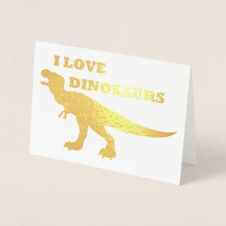 I Liebe-Dinosaurier! Folienkarte