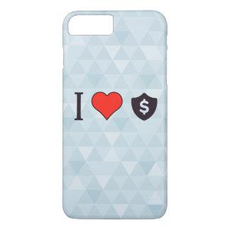 I Liebe-Dollar iPhone 8 Plus/7 Plus Hülle