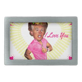 I Liebe Donald Trump Rechteckige Gürtelschnallen