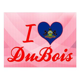 I Liebe DuBois, Pennsylvania Postkarte