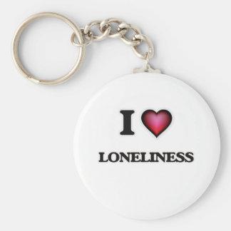 I Liebe-Einsamkeit Schlüsselanhänger