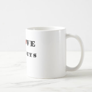 I Liebe-Fett-Typen Kaffeetasse
