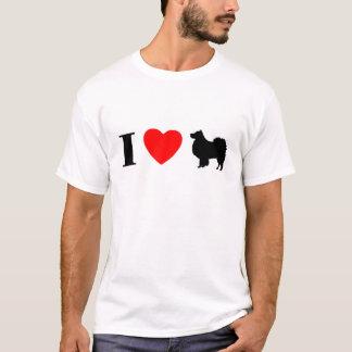 I Liebe finnischer Lapphunds T - Shirt