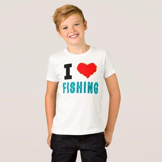 I Liebe-Fischerei T-Shirt