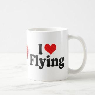 I Liebe-Fliegen Kaffeetasse