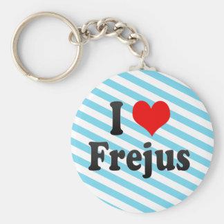 I Liebe Frejus, Frankreich Schlüsselanhänger