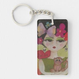 I Liebe Frida Schlüsselanhänger