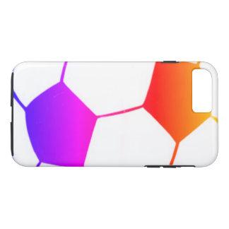 I LIEBE-FUSSBALL (Fußball) iPhone 8 Plus/7 Plus Hülle