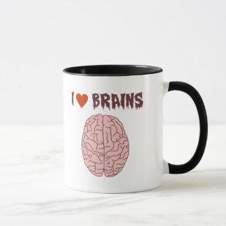 I Liebe-Gehirne Tasse
