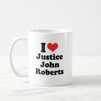 I LIEBE-GERECHTIGKEIT JOHN ROBERTS - .PNG TASSEN