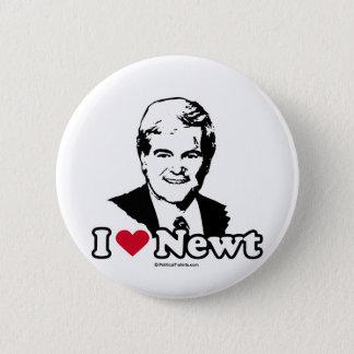 I Liebe Gingrich Runder Button 5,7 Cm