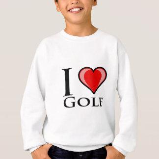 I Liebe-Golf Sweatshirt