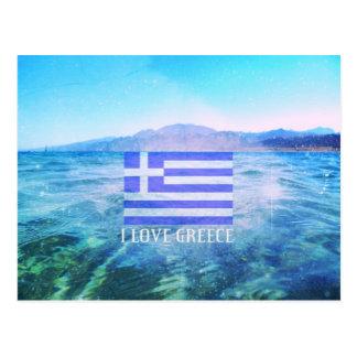 I Liebe Griechenland Postkarte