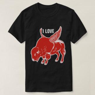 I Liebe GRILLEN Hühnerflügel T-Shirt