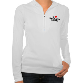 I LIEBE-GROSSES BAND-MUSIK SWEATER