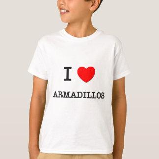 I Liebe GÜRTELTIERE T-Shirt