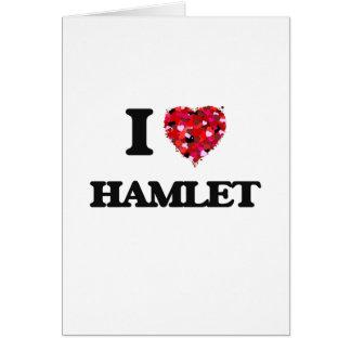 I Liebe Hamlet Karte