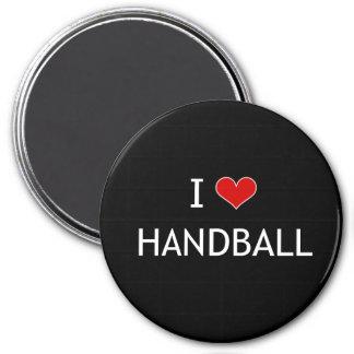 I Liebe-Handball Runder Magnet 7,6 Cm