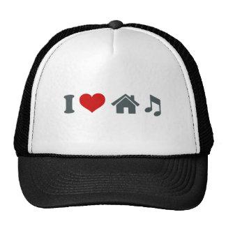 I Liebe-Haus-Musik Caps