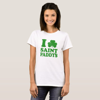 I Liebe-Heiligen Patrick Tagest-shirt T-Shirt