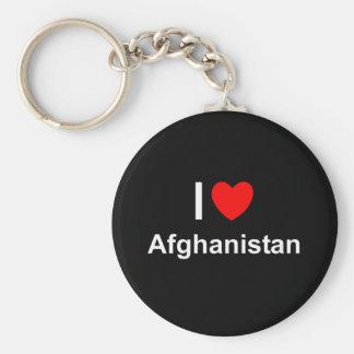 I Liebe-Herz Afghanistan Schlüsselanhänger