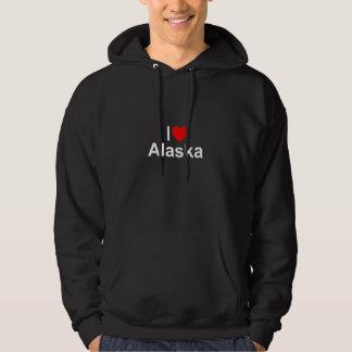 I Liebe (Herz) Alaska Hoodie