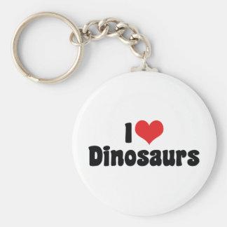 I Liebe-Herz-Dinosaurier - Schlüsselanhänger