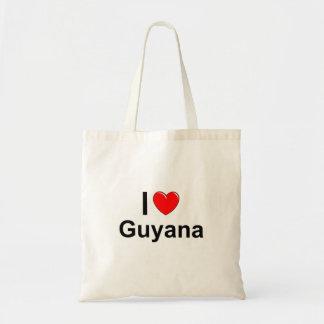 I Liebe-Herz Guyana Tragetasche