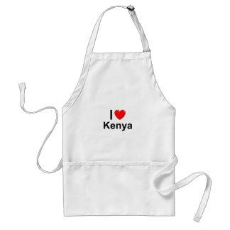 I Liebe-Herz Kenia Schürze