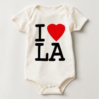 I Liebe-Herz LA Baby Strampler