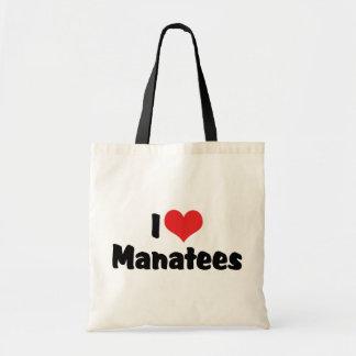 I Liebe-Herz-Manatis Tragetasche
