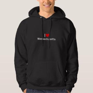 I Liebe (Herz) Massachusetts Hoodie
